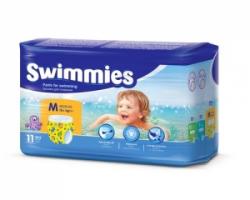 Трусики-подгузники для плавания Swimmies (12+кг) 11 шт.