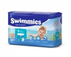 Трусики-подгузники для плавания Swimmies (7-13кг) 12 шт.