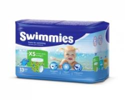 Трусики-подгузники для плавания Swimmies (4-9кг) 13 шт.
