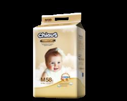 Трусики-подгузники CHIAUS Golden Care  M (6-11 кг) 58 шт.