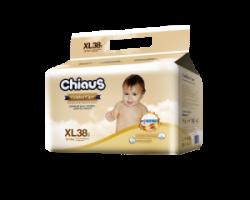 Трусики-подгузники CHIAUS Golden Care  XL (12-17 кг) 38 шт.
