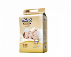 Подгузники CHIAUS Golden Care  S (4-8 кг) 82 шт.
